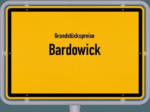 Grundstückspreise Bardowick 2019
