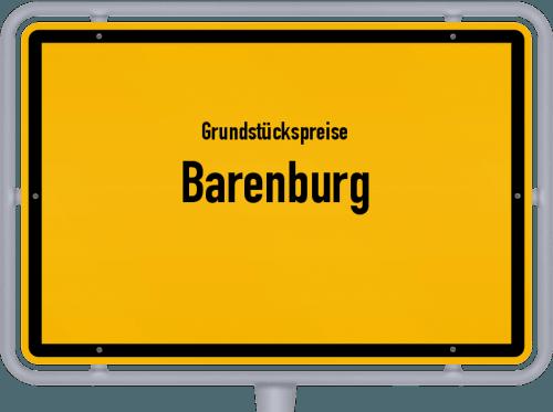 Grundstückspreise Barenburg 2021