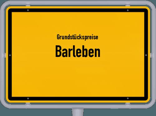 Grundstückspreise Barleben 2021