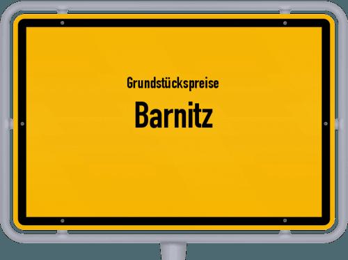 Grundstückspreise Barnitz 2021
