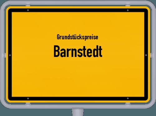 Grundstückspreise Barnstedt 2019