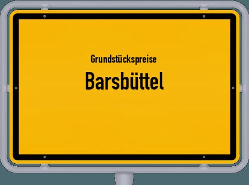 Grundstückspreise Barsbüttel 2021