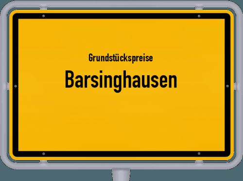 Grundstückspreise Barsinghausen 2020