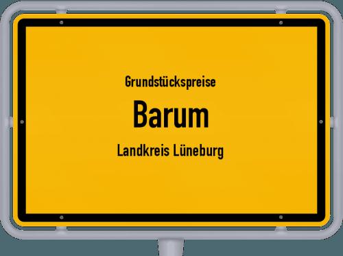 Grundstückspreise Barum (Landkreis Lüneburg) 2021