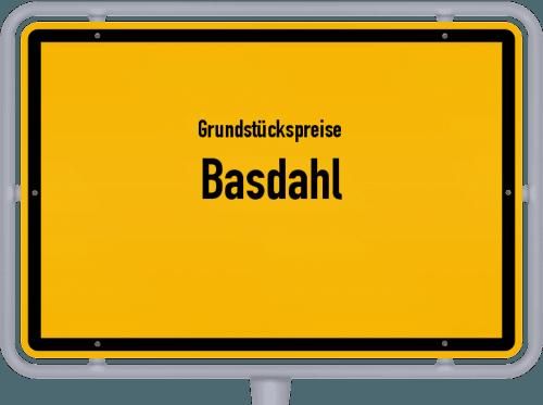 Grundstückspreise Basdahl 2019