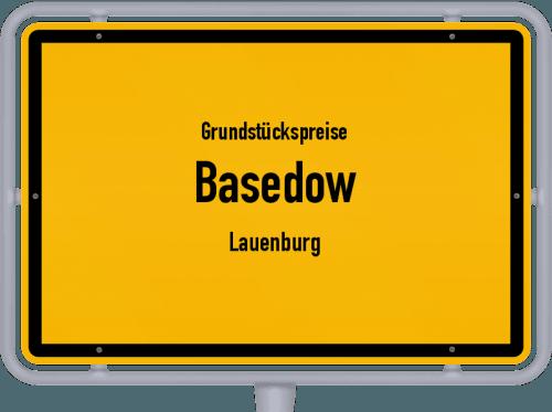 Grundstückspreise Basedow (Lauenburg) 2021