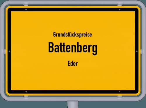 Grundstückspreise Battenberg (Eder) 2018