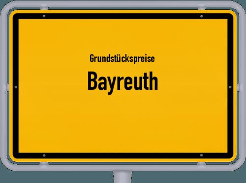 Grundstückspreise Bayreuth 2021