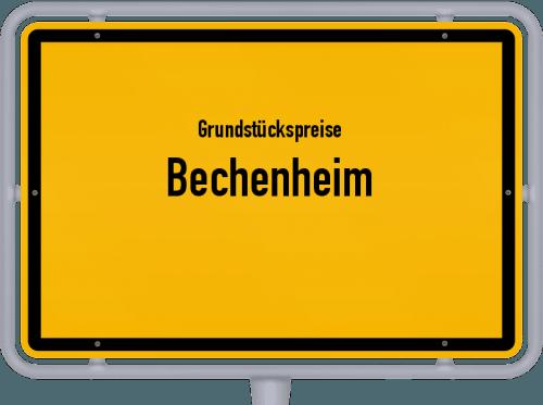 Grundstückspreise Bechenheim 2019