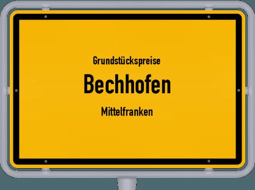Grundstückspreise Bechhofen (Mittelfranken) 2019