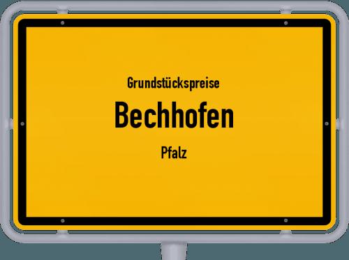Grundstückspreise Bechhofen (Pfalz) 2019