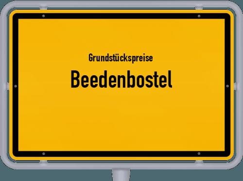 Grundstückspreise Beedenbostel 2019