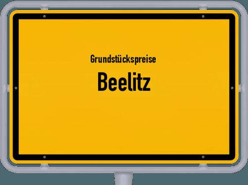 Grundstückspreise Beelitz 2021
