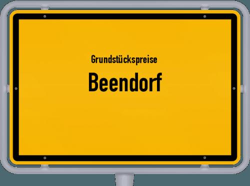 Grundstückspreise Beendorf 2021