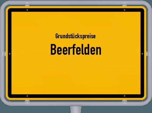 Grundstückspreise Beerfelden 2020