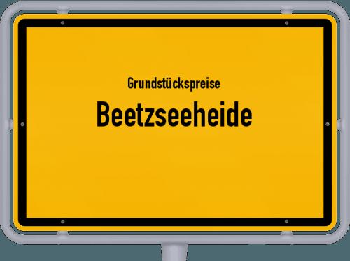 Grundstückspreise Beetzseeheide 2021