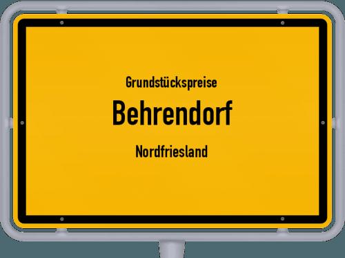 Grundstückspreise Behrendorf (Nordfriesland) 2021