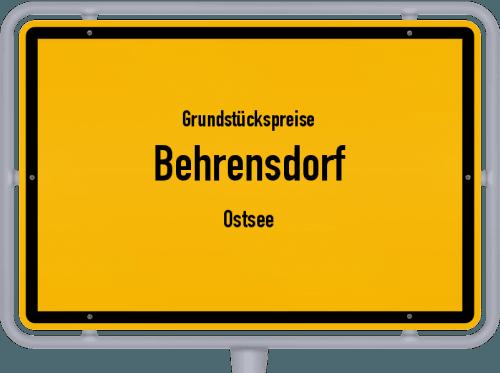 Grundstückspreise Behrensdorf (Ostsee) 2021