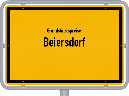 Grundstückspreise Beiersdorf 2019