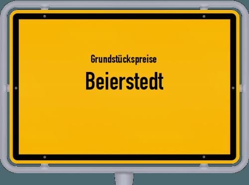 Grundstückspreise Beierstedt 2021