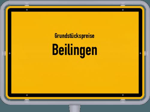 Grundstückspreise Beilingen 2019