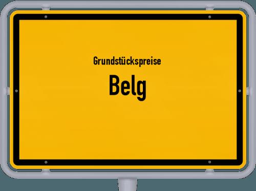 Grundstückspreise Belg 2019