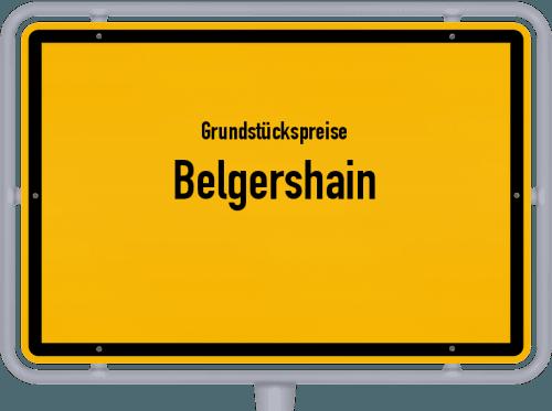 Grundstückspreise Belgershain 2019