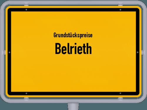 Grundstückspreise Belrieth 2019