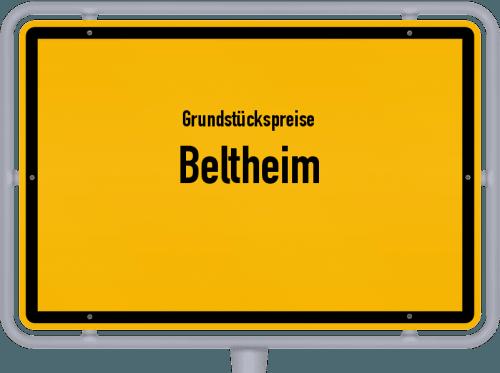 Grundstückspreise Beltheim 2019