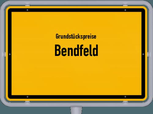 Grundstückspreise Bendfeld 2021