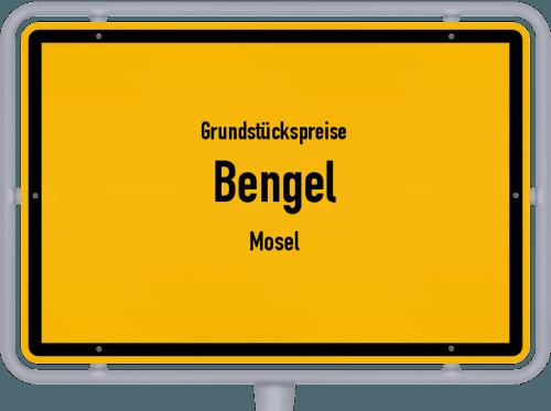 Grundstückspreise Bengel (Mosel) 2019