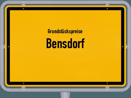 Grundstückspreise Bensdorf 2021