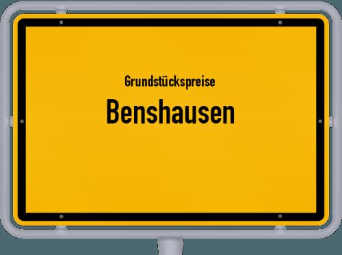 Grundstückspreise Benshausen 2019