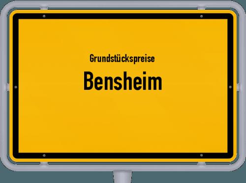 Grundstückspreise Bensheim 2019