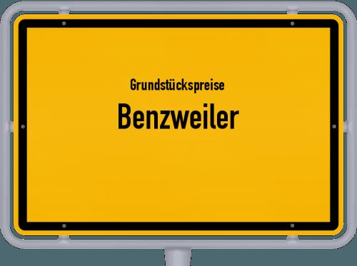Grundstückspreise Benzweiler 2019
