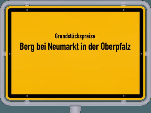 Grundstückspreise Berg bei Neumarkt in der Oberpfalz 2019
