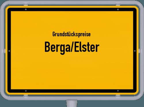 Grundstückspreise Berga/Elster 2019
