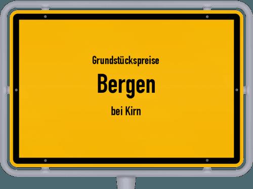 Grundstückspreise Bergen (bei Kirn) 2019