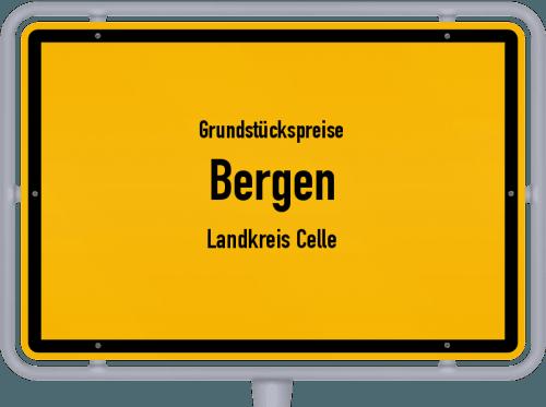 Grundstückspreise Bergen (Landkreis Celle) 2021