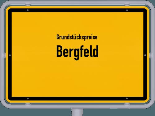 Grundstückspreise Bergfeld 2019