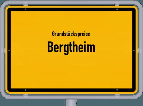 Grundstückspreise Bergtheim 2019