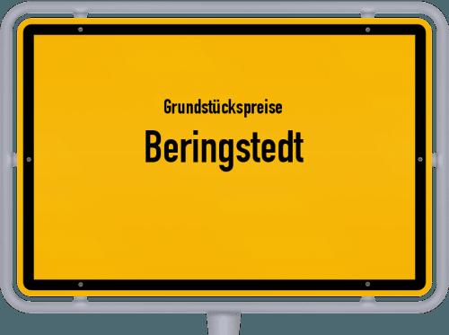 Grundstückspreise Beringstedt 2021