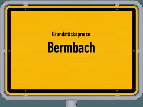 Grundstückspreise Bermbach 2019