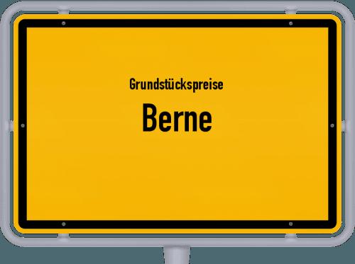 Grundstückspreise Berne 2019