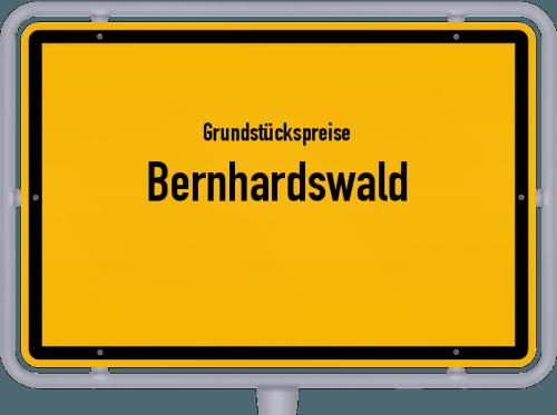 Grundstückspreise Bernhardswald 2021