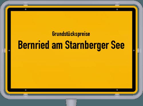 Grundstückspreise Bernried am Starnberger See 2021