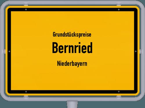 Grundstückspreise Bernried (Niederbayern) 2019