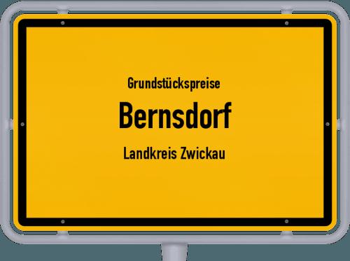 Grundstückspreise Bernsdorf (Landkreis Zwickau) 2019