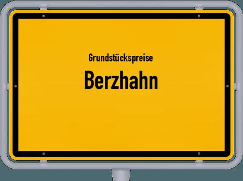 Grundstückspreise Berzhahn 2019