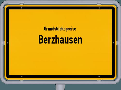 Grundstückspreise Berzhausen 2019
